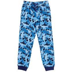 Flapdoodles Little Boys Dinosaur Jogger Pants