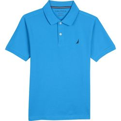Nautica Little Boys Anchor Solid Polo Shirt