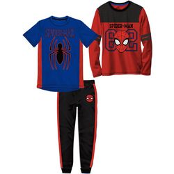 Marvel Spider-Man Little Boys 3-pc. Athletic Pants Set