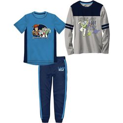 Disney Toy Story Little Boys 3-pc. Athletic Pants Set