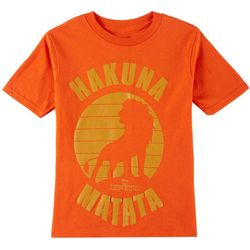 Disney Lion King Little Boys Hakuna Matata Graphic