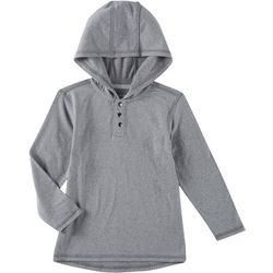 Reel Legends Toddler Boys Solid Ultra Comfort Hoodie