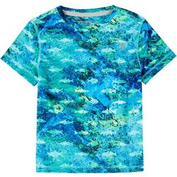 Reel Legends Toddler Boys Reel-Tec Choppy Waters T-Shirt