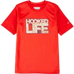 Columbia Toddler Boys Short Sleeve Hooked Life T-shirt