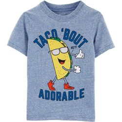 Carters Toddler Boys Taco 'Bout Adorable T-Shirt