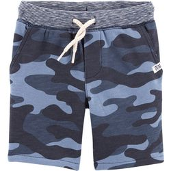 Carters Toddler Boys Camo Knit Pull-On Shorts