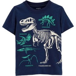 Carters Toddler Boys Dinosaur Skeleton T-Shirt