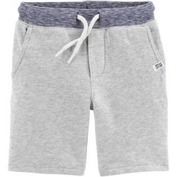 Carters Toddler Boys Heathered Knit Pull-On Shorts