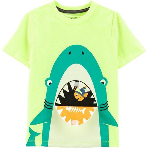 57077435 Carters Toddler Boys Shark Peek-A-Boo Flap T-Shirt   Bealls Florida