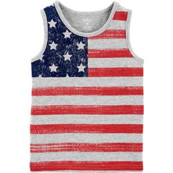 Carters Toddler Boys American Flag Tank Top