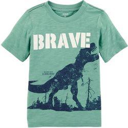 Carters Toddler Boys Brave Dinosaur T-Shirt