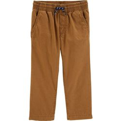 Carters Toddler Boys Solid Cozy Lined Pull-On Pants