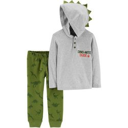 Carters Toddler Boys Dino-Mite Dude Jogger Pants Set