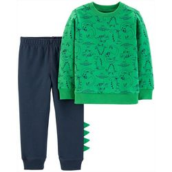 Carters Toddler Boys Dinosaur Print Jogger Pants Set