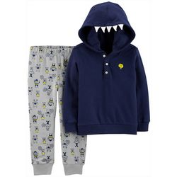 Carters Toddler Boys Monster Hoodie & Jogger Pants