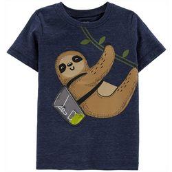 Carters Toddler Boys Sloth T-Shirt