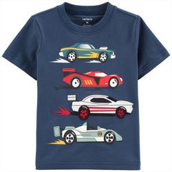 Carters Toddler Boys Race Cars T-Shirt