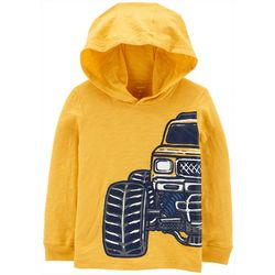 Carters Toddler Boys Monster Truck Hoodie