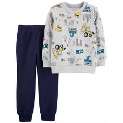 Carters Toddler Boys 2-pc. Construction Site Pants Set