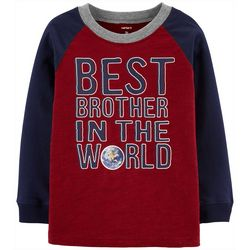 Carters Toddler Boys Best Brother In The World T-Shirt