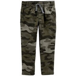 Carters Toddler Boys Camo Print Pull-On Pants