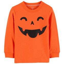 Carters Toddler Boys Halloween Pumpkin T-Shirt