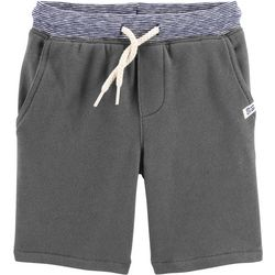 Carters Toddler Boys Solid Knit Pull-on Shorts