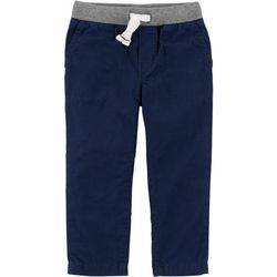 Carters Toddler Boys Solid Pull-On Pants