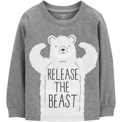 Carters Toddler Boys Release The Beast Bear T-Shirt