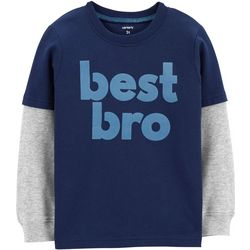 Carters Toddler Boys Best Bro Long Sleeve T-Shirt