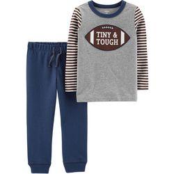 Carters Toddler Boys Tiny & Tough Jogger Pants Set