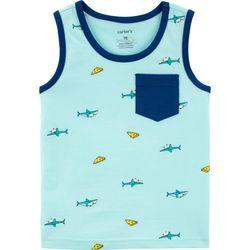 Carters Toddler Boys Pizza Shark Tank