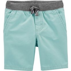 Carters Toddler Boys Solid Dock Pull-On Shorts