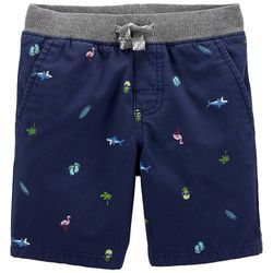 Carters Toddler Boys Beach Dock Pull-On Shorts
