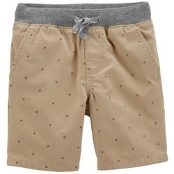 Carters Toddler Boys Hashtag Dock Pull-On Shorts