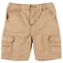 Wrangler Toddler Boy Solid Relaxed Cargo Shorts