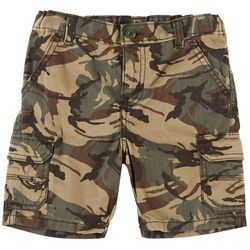 Wrangler Toddler Boys Camouflage Relaxed Cargo Shorts