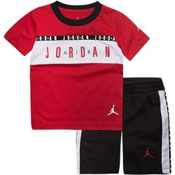 Jordan Toddler Boys 2-pc. Taping Jordan Shorts Set