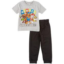 Nickelodeon Paw Patrol Toddler Boy Heroes Jogger Pants Set