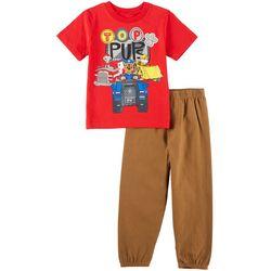 Nickelodeon Paw Patrol Toddler Boys Top Pups Pants Set
