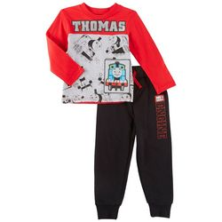Nickelodeon Thomas the Train Toddler Boys Engine Pants Set