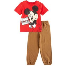 Disney Mickey Mouse Toddler Boys Cool Dude Pants Set