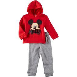 Disney Mickey Mouse Toddler Boys Mickey Hoodie Pants Set