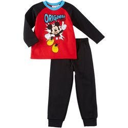 Disney Mickey Mouse Toddler Boys Original Legend Pants Set