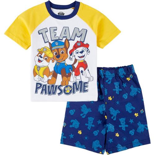Dreamwave Boys 2 Piece Paw Patrol Rash Guard Set Blue