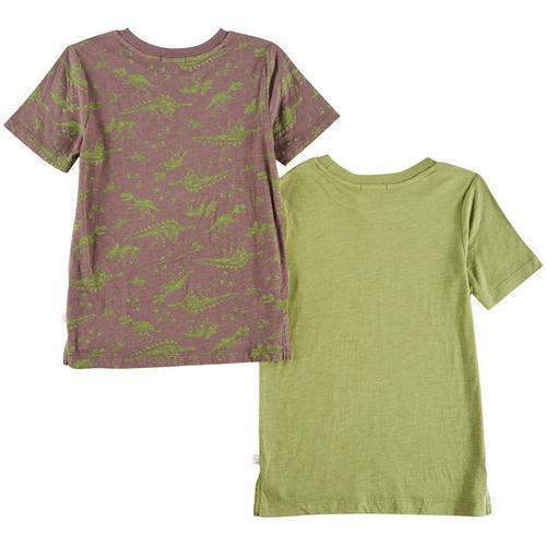 Flapdoodles Toddler Boys 2 Pk Dinosaur T Shirts Bealls Florida