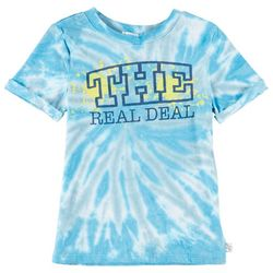 Flapdoodles Toddler Boys The Real Deal Tie Dye T-Shirt
