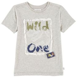 Flapdoodles Toddler Boys Wild One T-Shirt