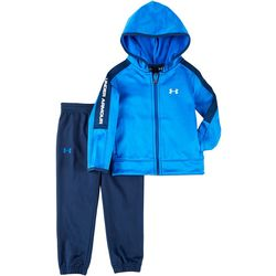 Under Armour Toddler Boys Fleece Hoodie Track Set