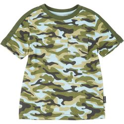 Ocean Current Toddler Boys Camo Print T-shirt